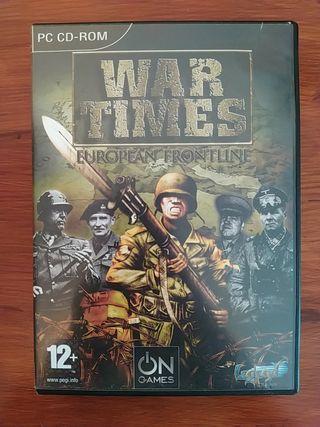 Juego War Times