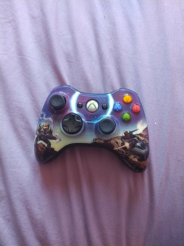 Mando xbox 360 Edición especial Halo