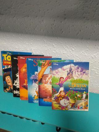 seis cuentos Disney edición catalan inglés