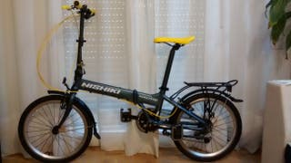 Bicicleta plegable Nishiki de 20 pulgadas y 7vel.
