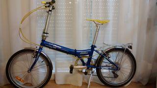 Bicicleta plegable Peerlees de 20 pulgadas y 7vel