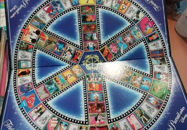 Trivial Persuit Disney Dvd