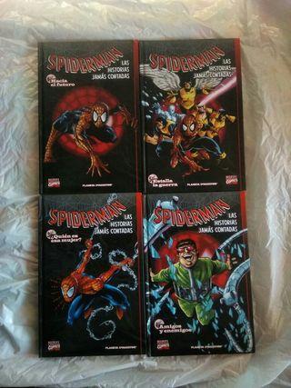 spiderman las historias jamas contadas 3 al 6