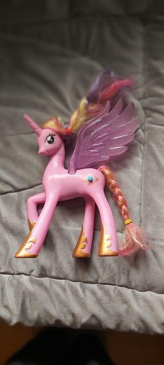 my little pony caballito unicornio rosa chica