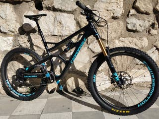 Bici enduro Cannondale jekyll carbon 1.