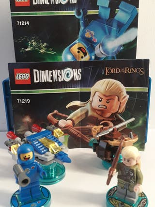 LOTE LEGO DIMENSIONS LEGOLAS Y BENNY