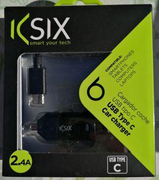 Cargador de coche USB tipo C NUEVO