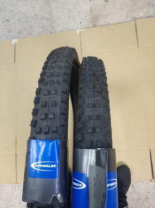 Neumáticos o cubiertas bicicleta enduro tubulees
