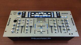 Mesa mezclas AUDIO+VIDEO - Numark AVM02