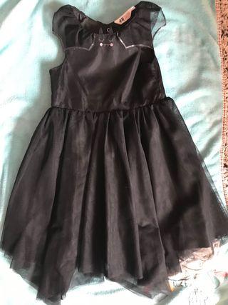 Vestido H & M talla 5 -6 años disfraz Halloween