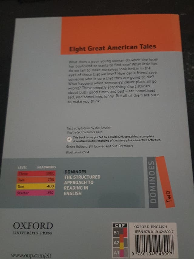 Eight great american tales Oxford