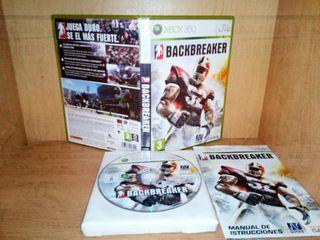 Backbreaker (2009) xbox 360