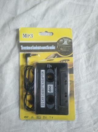 Adaptador de Cassette a AUX/Móvil/MP3