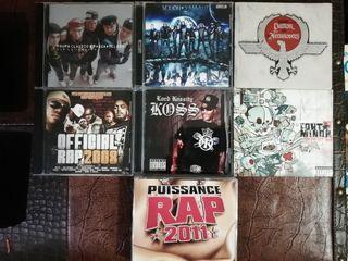 cds, rap hip hop