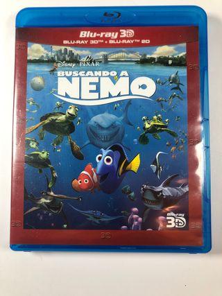 Buscando a Nemo 3D y Blu-Ray