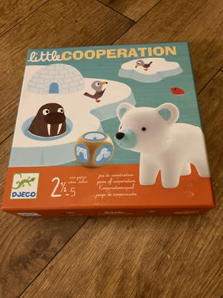 Juego little cooperation Djeco