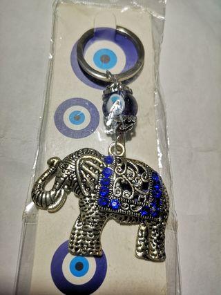 Elephant keyring/keychain
