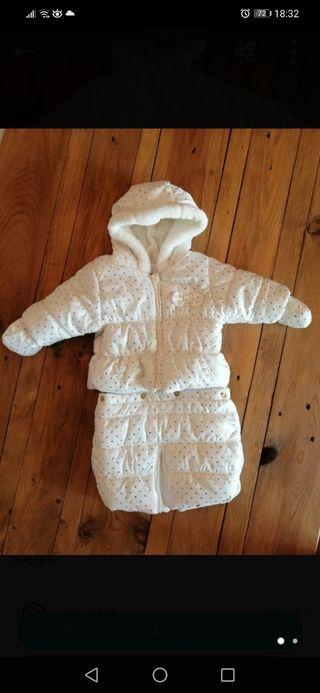 saco bebe / chaqueta / buzo