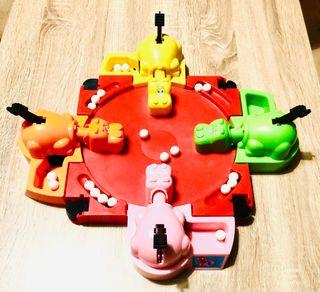 Tragabolas, juego de mesa de la marca Hasbro.
