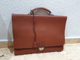maletín portadocumentos piel