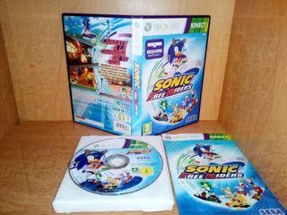 Sonic Freeriders (2010) xbox 360