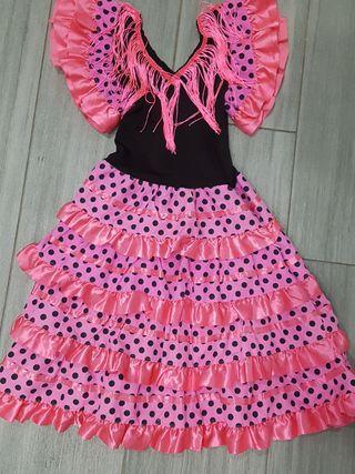 Vestido flamenca. 6años