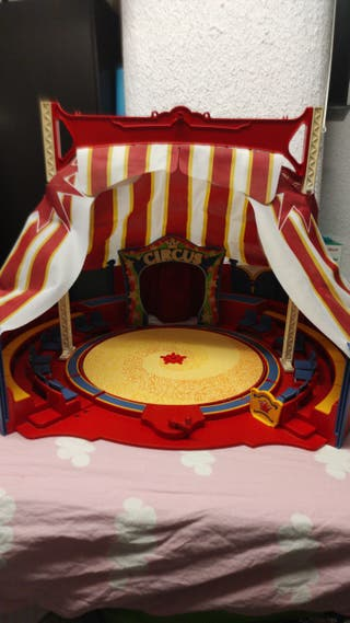 Circo playmobil, carpa