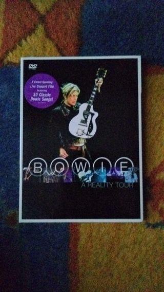 DVD David Bowie - A reality tour