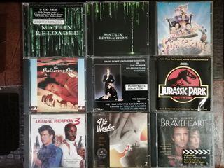 lote CD's Bandas sonoras originales