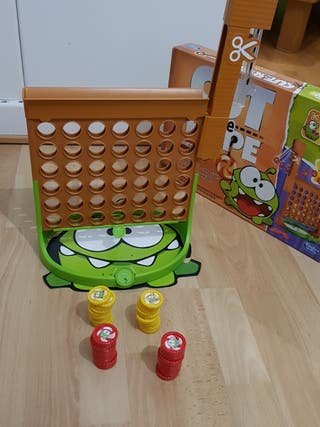 Juego Cut the rope Connect4