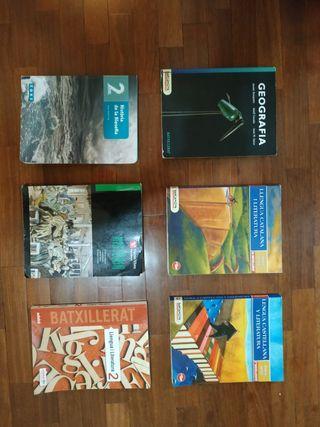 Libros segundo de bachillerato