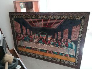 cuadro religioso la última cena tapiz