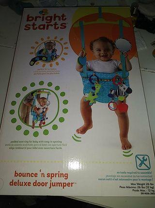 saltador para puerta de bebes