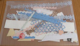 Recortes de papel scrap