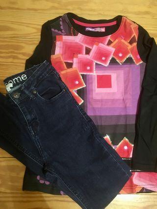 Jeans Gocco 11-12 y regalo!
