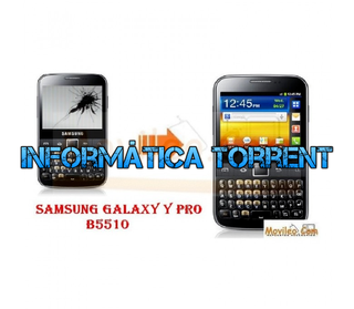 CAMBIAR PANTALLA LCD SAMSUNG B5510 / GALAXY Y PRO