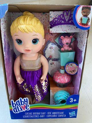 Muñeca Baby Alive cumpleaños