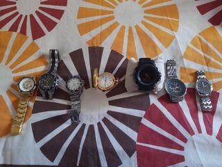 se venden 7 relojes