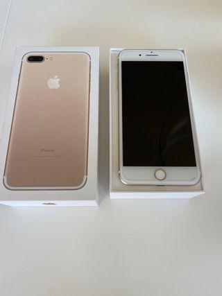 Iphone 7 plus oro 128GB