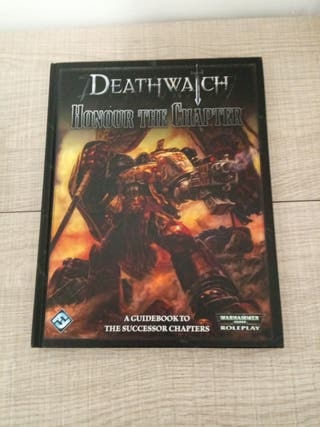 Deathwatch Honour the Chapter Warhammer 40k rol