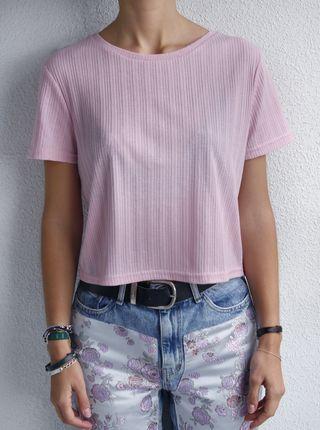 Camiseta rosa palo NUEVA