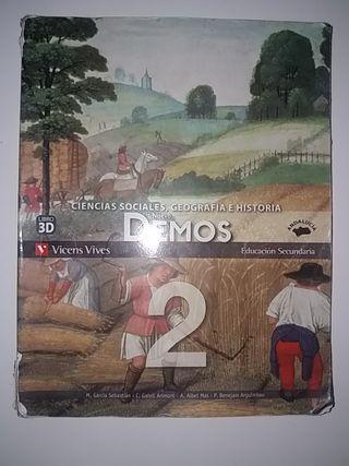 Ciencias sociales, Geografía e Historia. Demos 2.