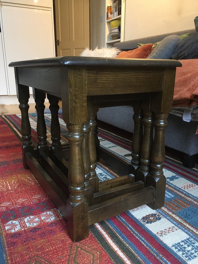 Wooden side tables