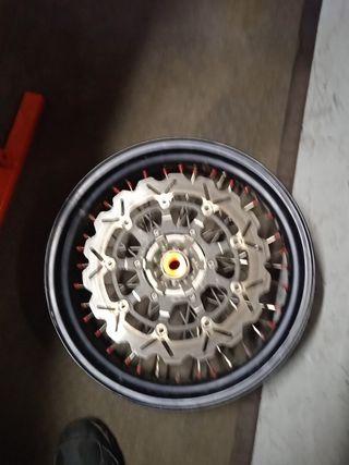 llanta delantera 17'' KTM supermotard
