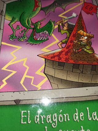 libro juvenil el dragón de la mala suerte