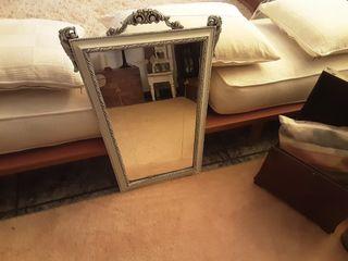 Espejo muy antiguo Restaurado