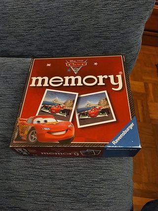 """Juego """"Agilizar Memoria"""" CARS_DISNEY"""