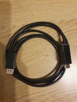 Cable Displayport a Hdmi