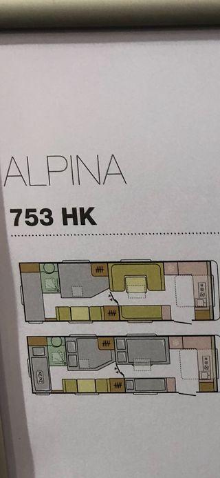 Caravana Adria Alpina 753 HK 2019