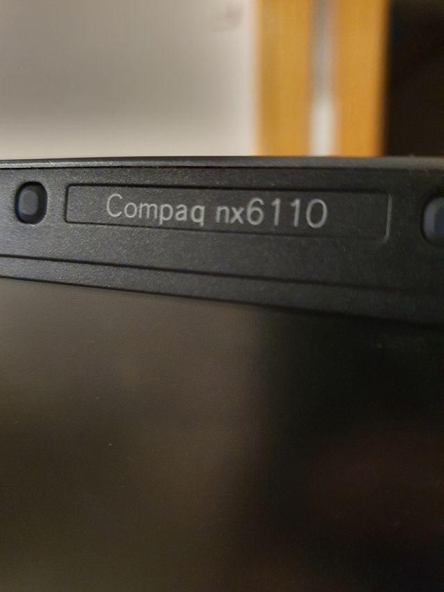 Portátil HP Compaq nx6110